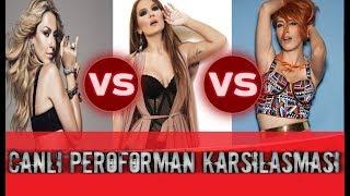 Gambar cover Hadise vs Hande Yener vs Demet Akalin Canli Performans Karsilasmasi!