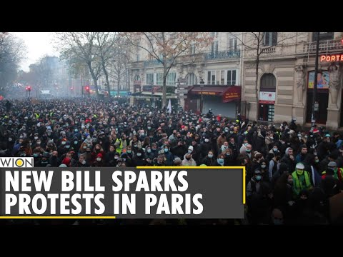 Macron's new Anti-religious bill sparks fresh protests in France | World News | English News | WION