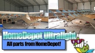 Home Depot Ultralight Aircraft, Jack Harper And His Homedepot Plans Built Ultralight Aircraft Kit!