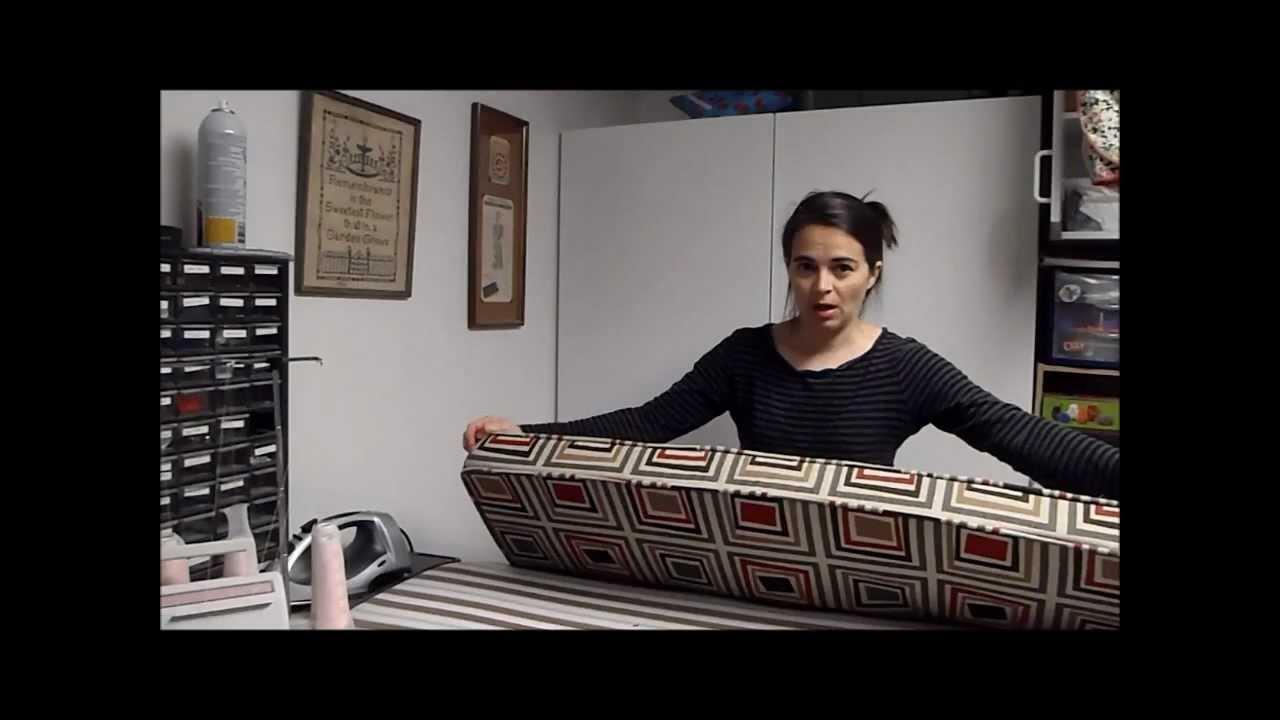 Bench Cushion Zipper Option Youtube