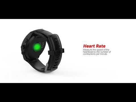 2018New gps smart watch, Parnerme GPS Running Watch Heart Rate Monitor Wrist Sport Watch !