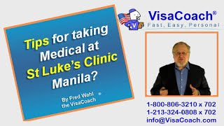 Tips for Fiance Spouse Visa Medical St Lukes Manila? FAQ#30