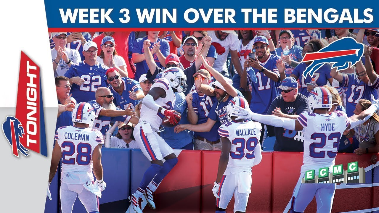 Buffalo Bills Week 3 Win Over The Bengals Youtube