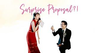 Surprise Proposal 😱 | Wedding Host 119