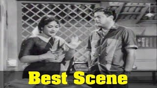 Poojaikku Vandamalar Movie : Gemini Ganesan, Savitri, Best Scene