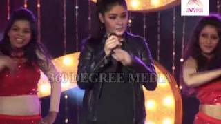 "Sunidhi Chauhan Sing a item Song ""Babli Badmaash"" at the Music Launch of film ""Shootout at Wadala"""