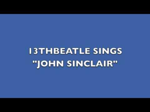JOHN SINCLAIR-JOHN LENNON COVER