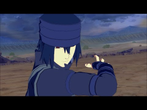 Space Time Ninjutsu Sasuke the Last - Naruto Ultimate Ninja Storm 4 PC Moveset Mod Gameplay
