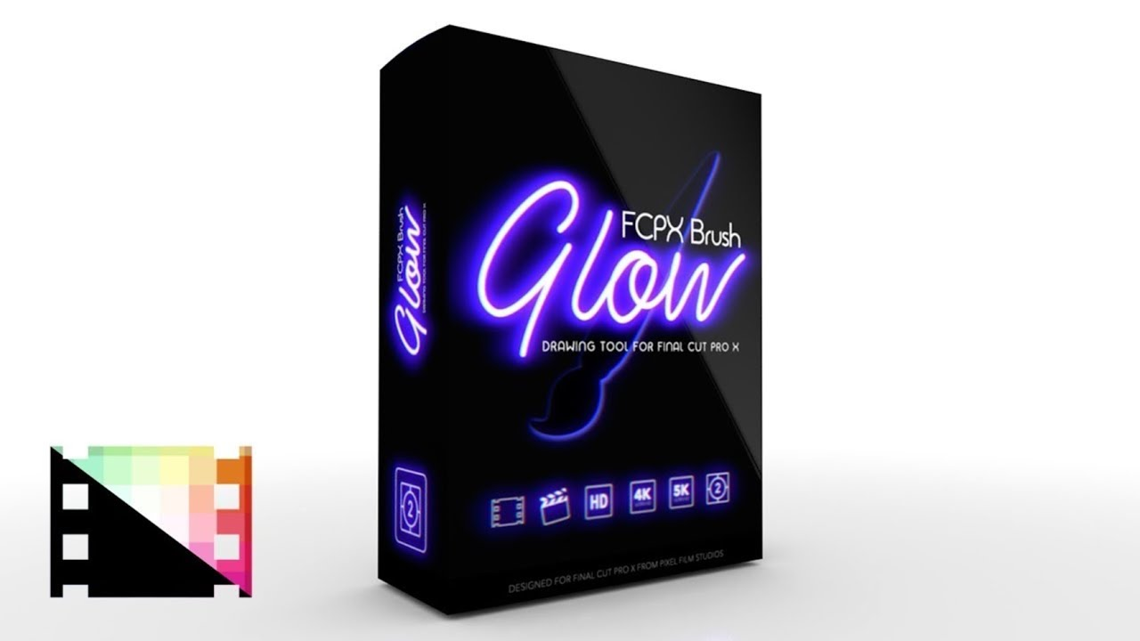 FCPX Brush Glow - Drawing Tool for Final Cut Pro X - Pixel Film Studios