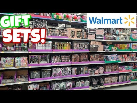 Walmart Makeup  GIFT SETS and $1.00 dollar stocking stuffers * CHRISTMAS IDEAS * SHOP WITH ME 2019