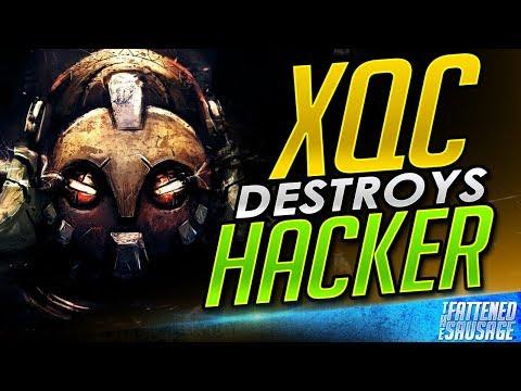 XQC WRECKS TOP 500 AIMBOT HACKER!