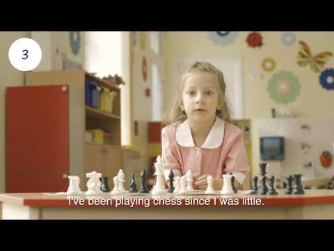 English Nursery school. Promo video