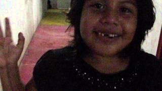 paloma cuando se le cayó su primer diente...te ves hermosa hijita