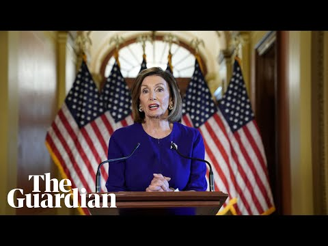Nancy Pelosi accuses Trump of 'betrayal' as she announces impeachment inquiry