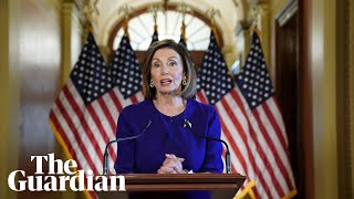Nancy Pelosi accuses Trump of 'betrayal' as she announces impeachment inquiry