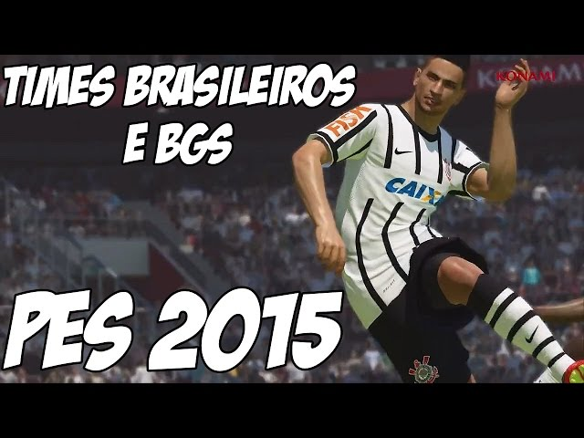 PES 2015: Novo Trailer Times Brasileiros e Menu do Jogo - BGS 2014 Travel Video