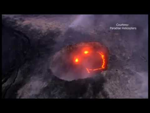 A Lava Smiley? This Was Spotted In Hawaii, As The Kilauea Volcano Erupts