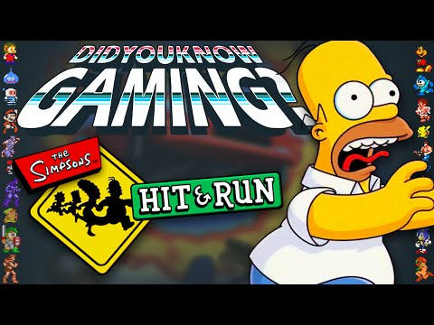 The Simpsons Hit & Run - Did You Know Gaming? Feat. h3h3 Productions