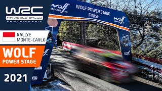 WRC - Rallye Monte-Carlo 2021: HIGHLIGHTS Wolf Power Stage