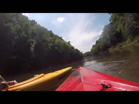 Kayaking the Mohican river