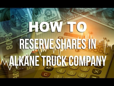How to invest in Shares of Alkane Truck Company
