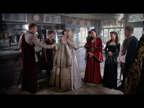 OUAT  5x05 'Emma, is your heart truly ready to be free?' Emma, Merlin, Killian, Snow, etc