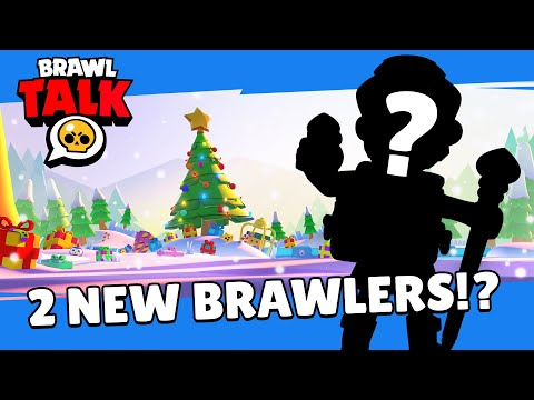 Brawl Stars: Brawlidays Brawl Talk! TWO new Brawlers!? Free gifts!?