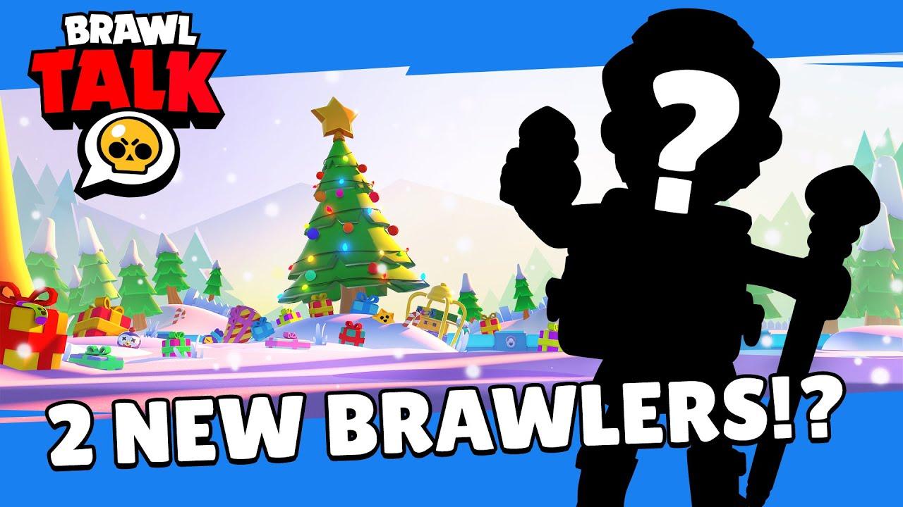Download Brawl Stars: Brawlidays Brawl Talk! TWO new Brawlers!? Free gifts!?