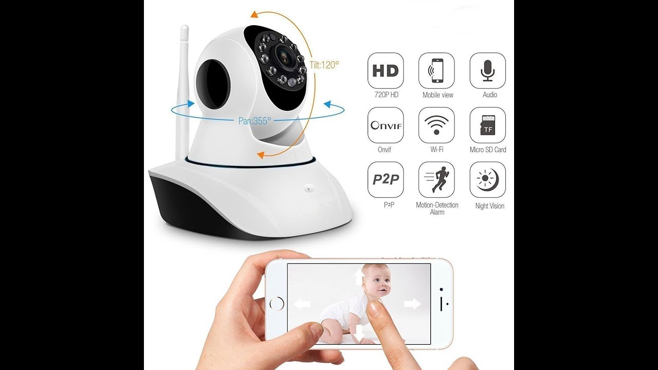 3a317dc5772 V380 Wireles Camera - WiFi Monitoring - Remote Intelligent Baby care with Home  Security
