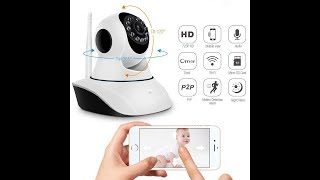 V380 Wireles Camera - WiFi Monitoring - Remote Intelligent Baby care with Home Security