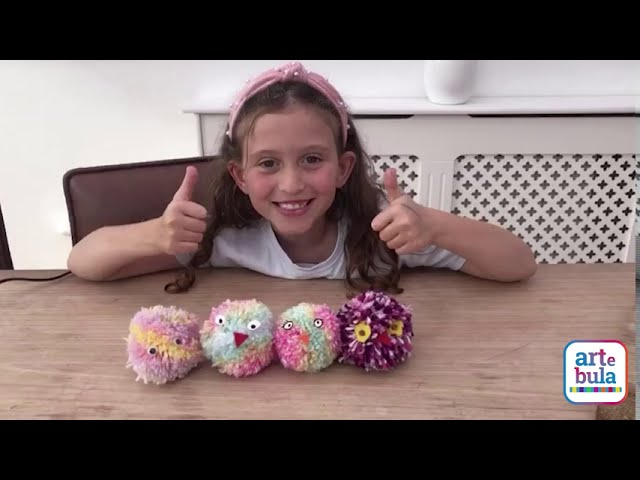 Make a Pom-Pom Animal