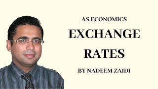 Exchange Rates Appreciation/Depreciation l AS Economics