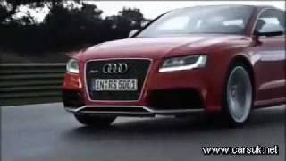 Audi RS5 2010-2011 Driving