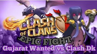 Clash Of Clans | EPIC CLAN WAR - Gujarat Wanted vs Clash Dk with 54 - 52 Clan War #2