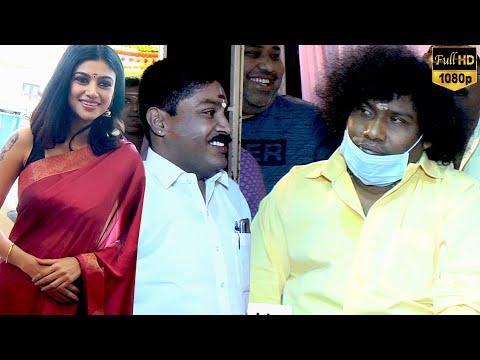 Contractor Nesamani Movie Pooja | Yogi Babu | Oviya | GP Muthu | Movie Launch | Kollywood | Chennai