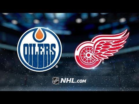 Edmonton Oilers vs Detroit Red Wings (4-3) – Nov. 3, 2018 | Game Highlights | NHL 2018