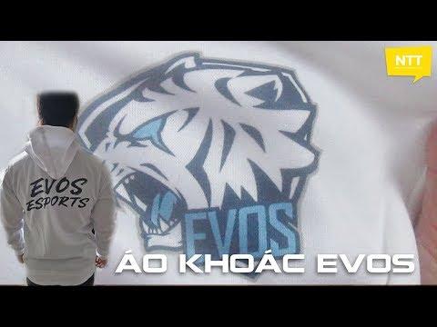 Mở Hộp áo Khoác đội Tuyển EVOS