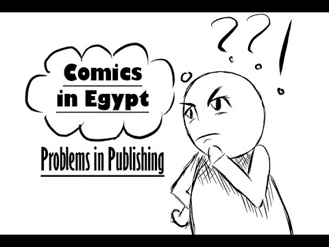 Problems in Publishing Comics or Manga in Egypt