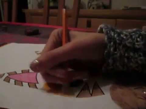 Comment dessiner un chat facile et mignon - YouTube - Dessiner Un Chat Facile