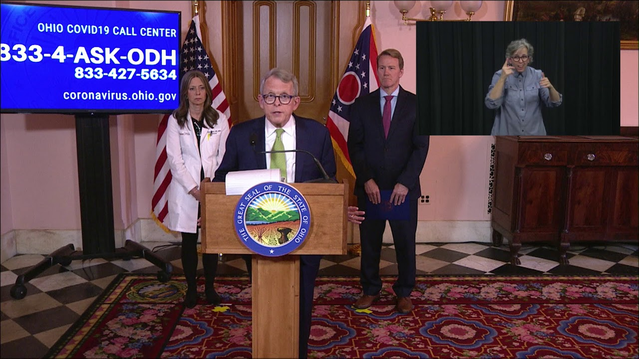 Gov. Mike DeWine implores Ohioans to take immediate action to ...
