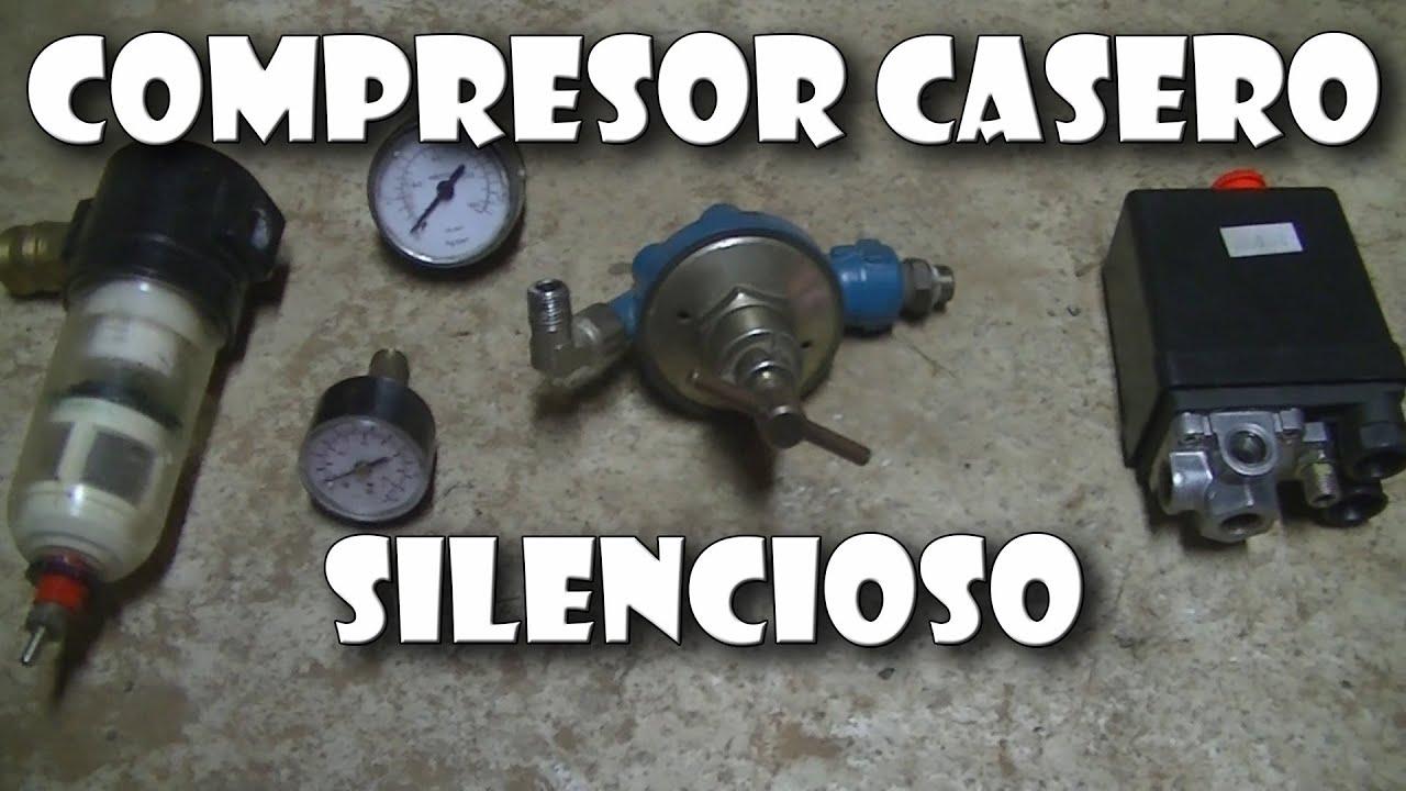 C mo hacer un compresor con un motor de nevera silencioso for Como hacer un tanque de agua para rustico