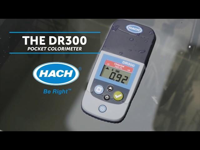 Colorímetro DR300