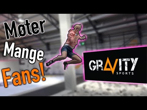 NORGES BESTE TRAMPOLINEPARK? Gravity Sports!