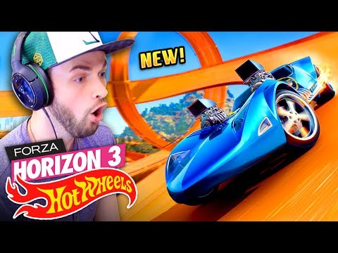 😍 EVERY BOY'S DREAM COME TRUE! 🚗💨 - Forza Horizon 3 (HOT WHEELS DLC) thumbnail