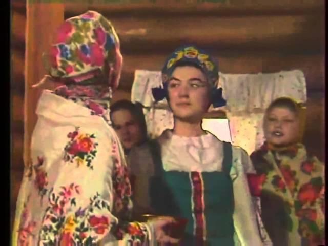 Russian traditions Folklore Children Singing Dance Zima Winter Kolyadki