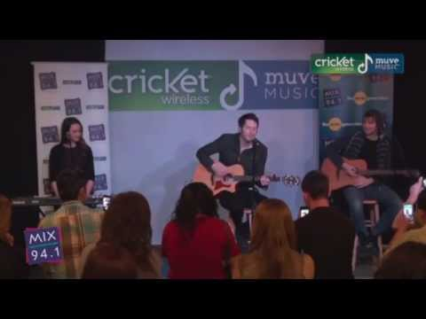 Owl City - Live CricKet - (Fireflies - Good Time - Gold) - Acoustic - [HD]