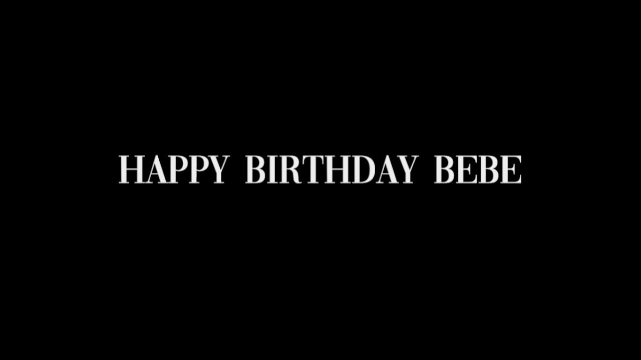 Happy 31st birthday, Bebe Rexha! (Map project)