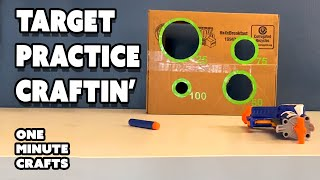 TARGET PRACTICE CRAFTIN' - One Minute Crafts