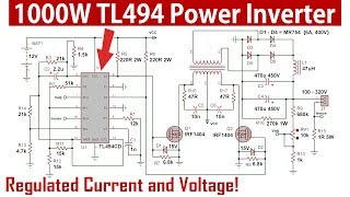 Download High Frequency Inverter With Tl494 52 Khz 1500w Full