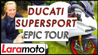 ducati SuperSport Touring Review in the Pyrenees!